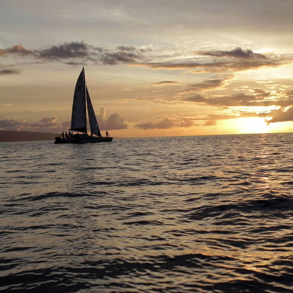 Sunset Sailing Maui