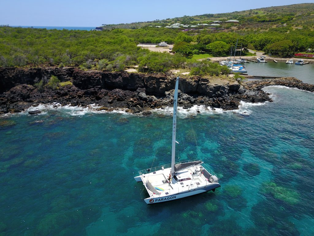 Lanai snorkel sail with sail maui on paragon