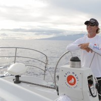 Captain's choice sail Maui snorkel and sailing on Paragon performance catamaran