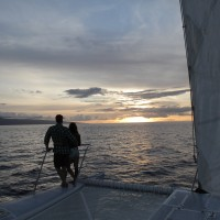Lahaina Champagne Sunset Sail Romantic Sailing