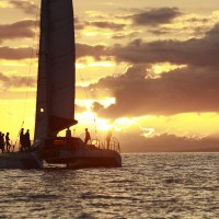 Sail Maui Champagne sunset sail in Lahaina