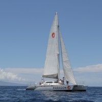 Sail Maui performance sailing to Molokini for Snorkel trip